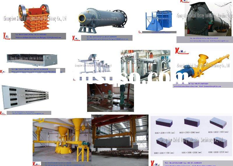 Aerated Concrete Production Line! AAC Blocks! Newest Nowadays!