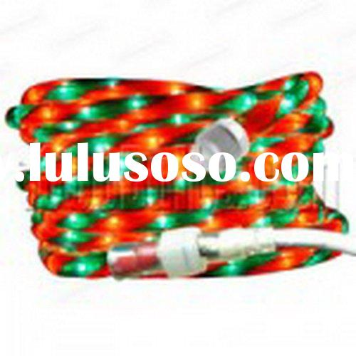 Christmas Rope Light Red and Green