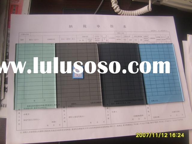 Clear and tinted float glass
