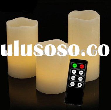 Flameless LED Wax Candle Battery operated