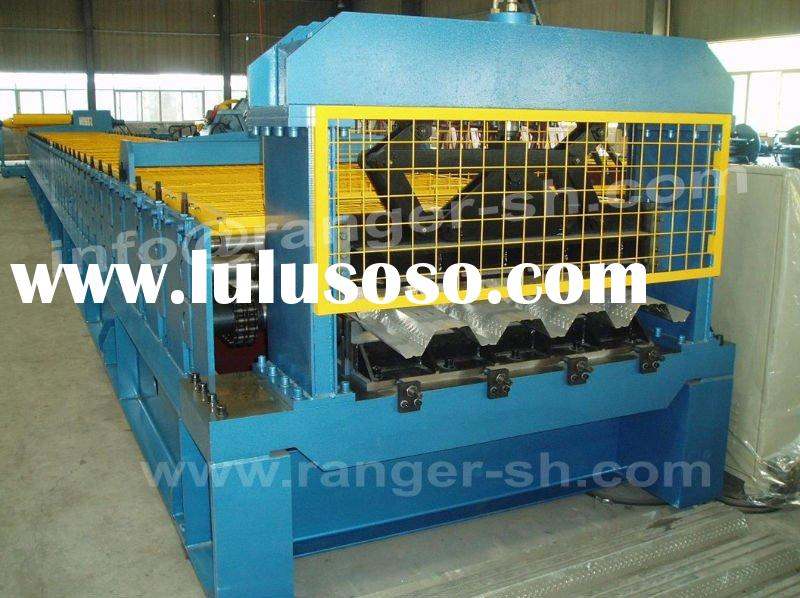 Floor Deck Forming Machine For Metal Building