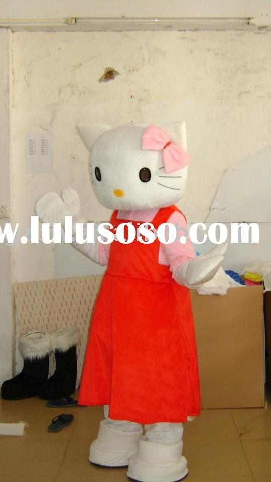 Hello Kitty costume/party costume/fur costume
