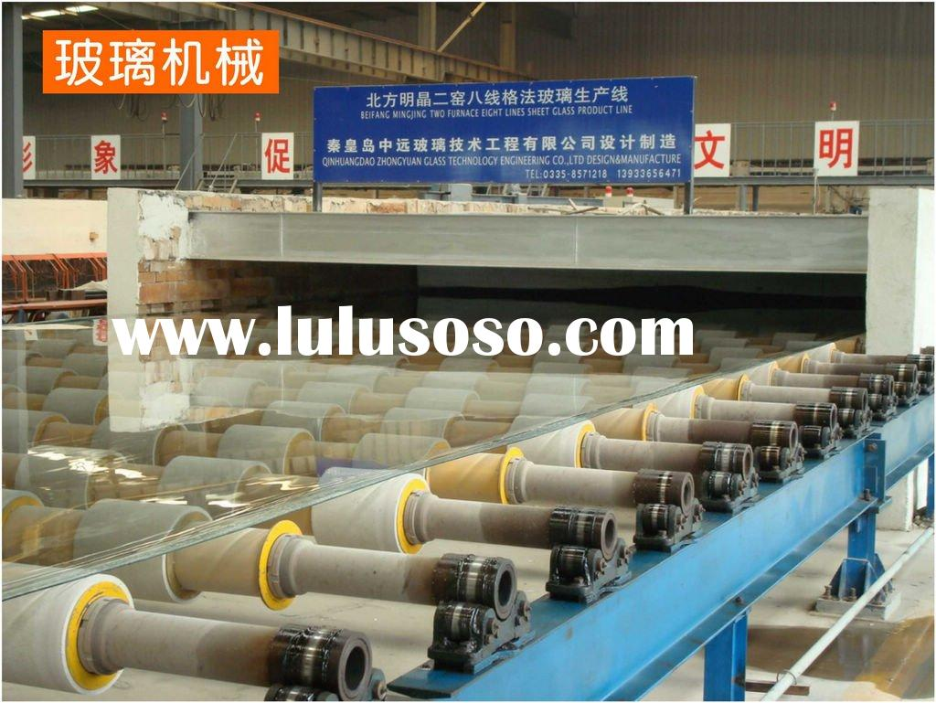 Horizontal drawing machine for sheet glass production line