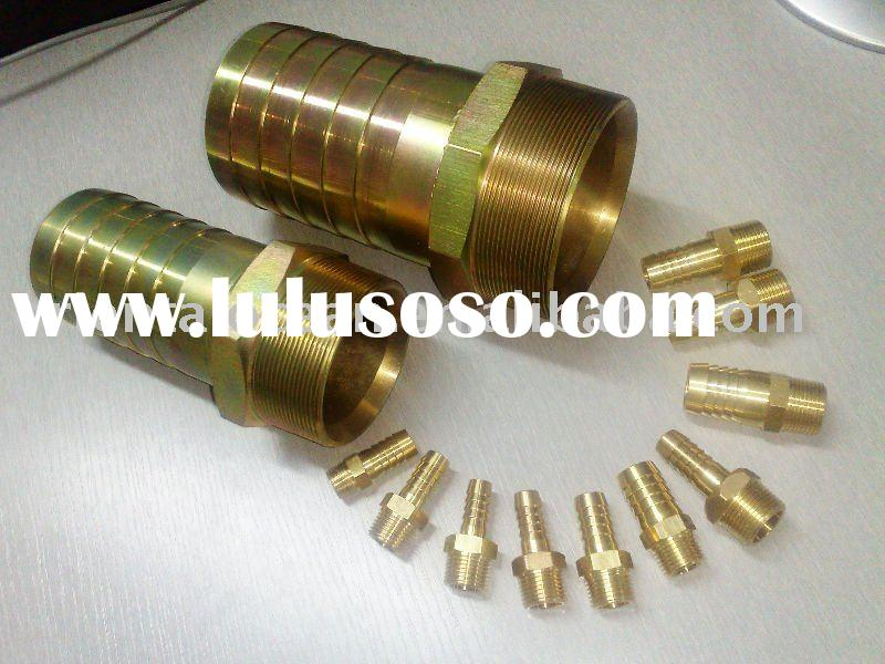Hydraulic hose metric adapters and fittings