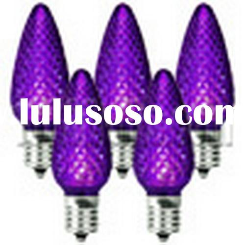 LED - purple - C7 Replacement Bulb Christmas Lights