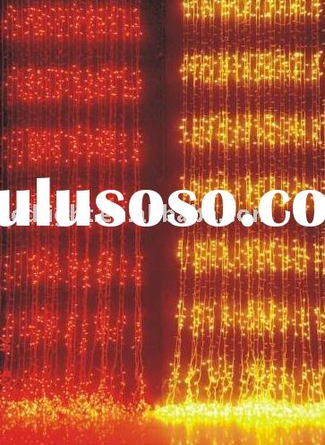 LED waterfall light,christmas lights,curtain lights