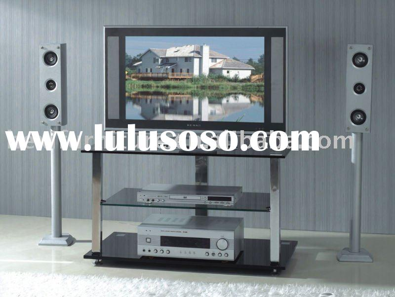 Modern tempered glass TV stand  TV-2036