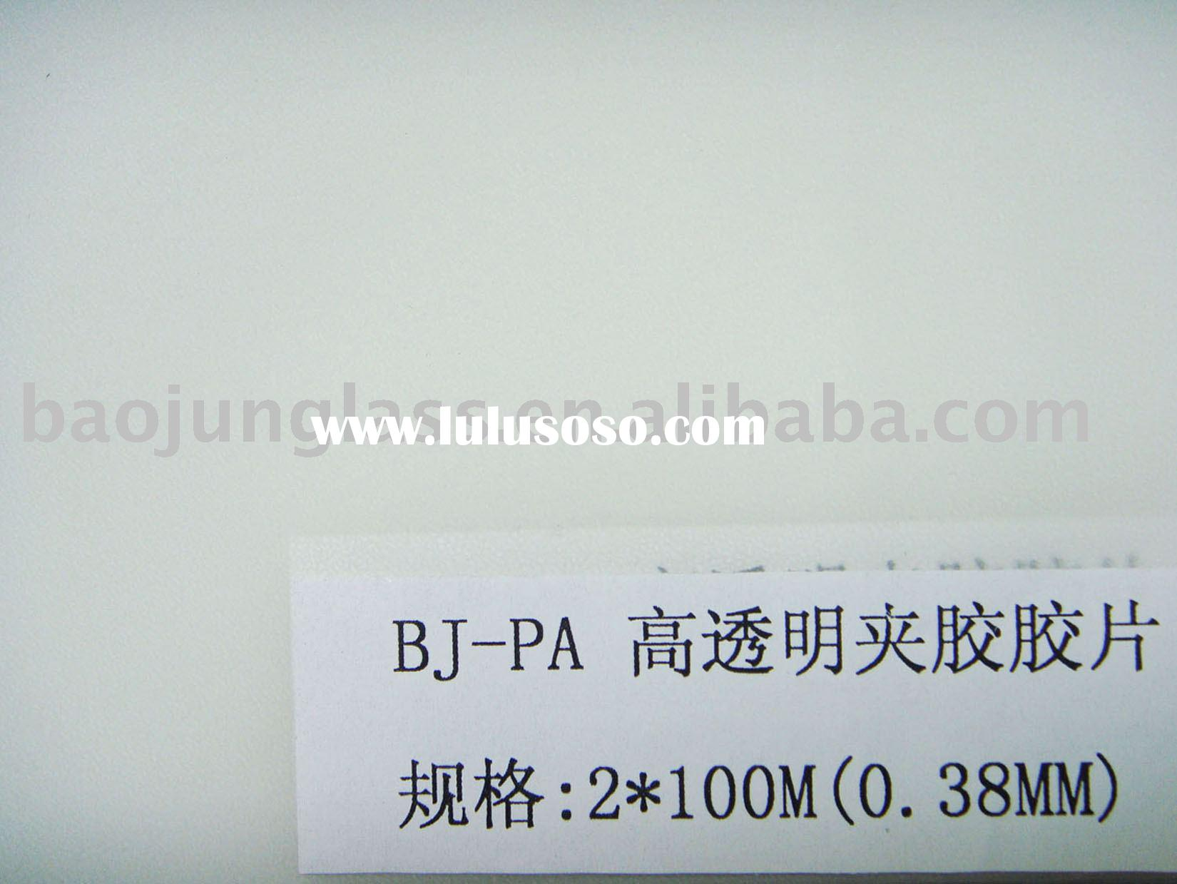 PA High Clear Laminated film for the Glass