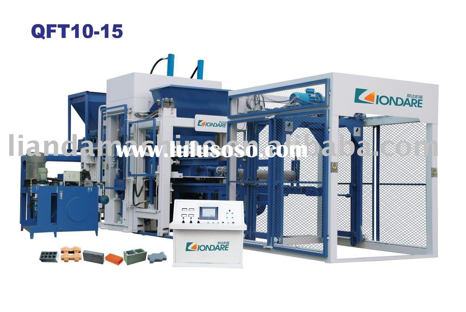 QFT10-15 fully automatic block equipment