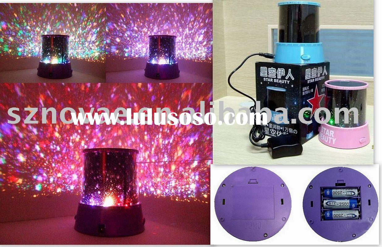 Star Beauty Projector Night Light Promotion Gift