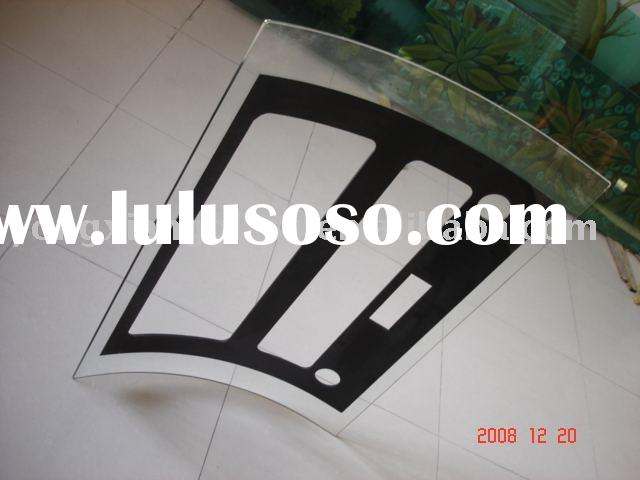 Tempered glass panel glass