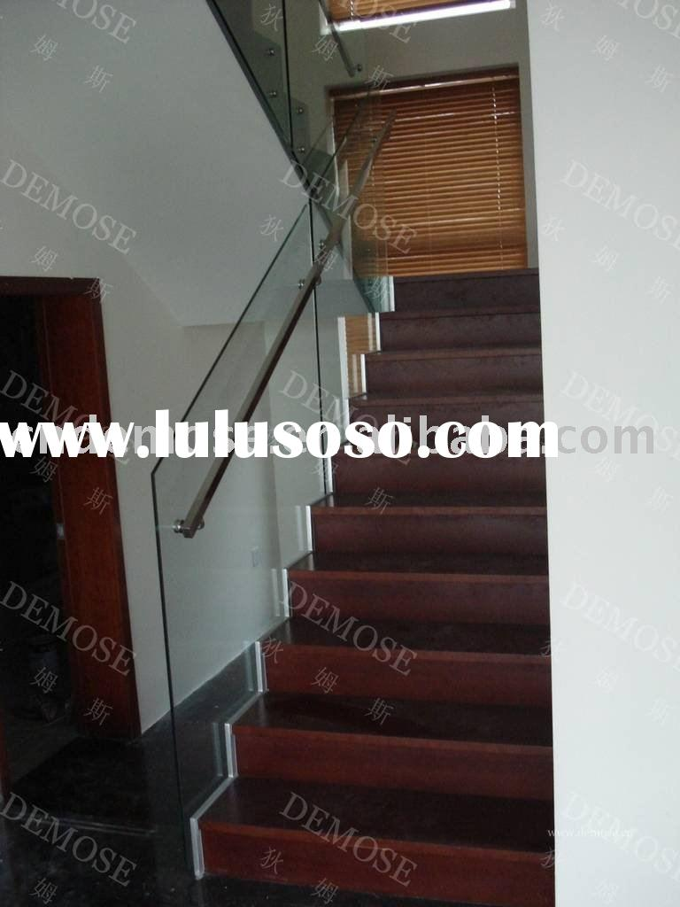 Tempered glass stair