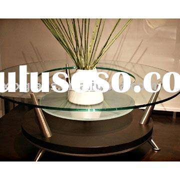 Tempered glass table top