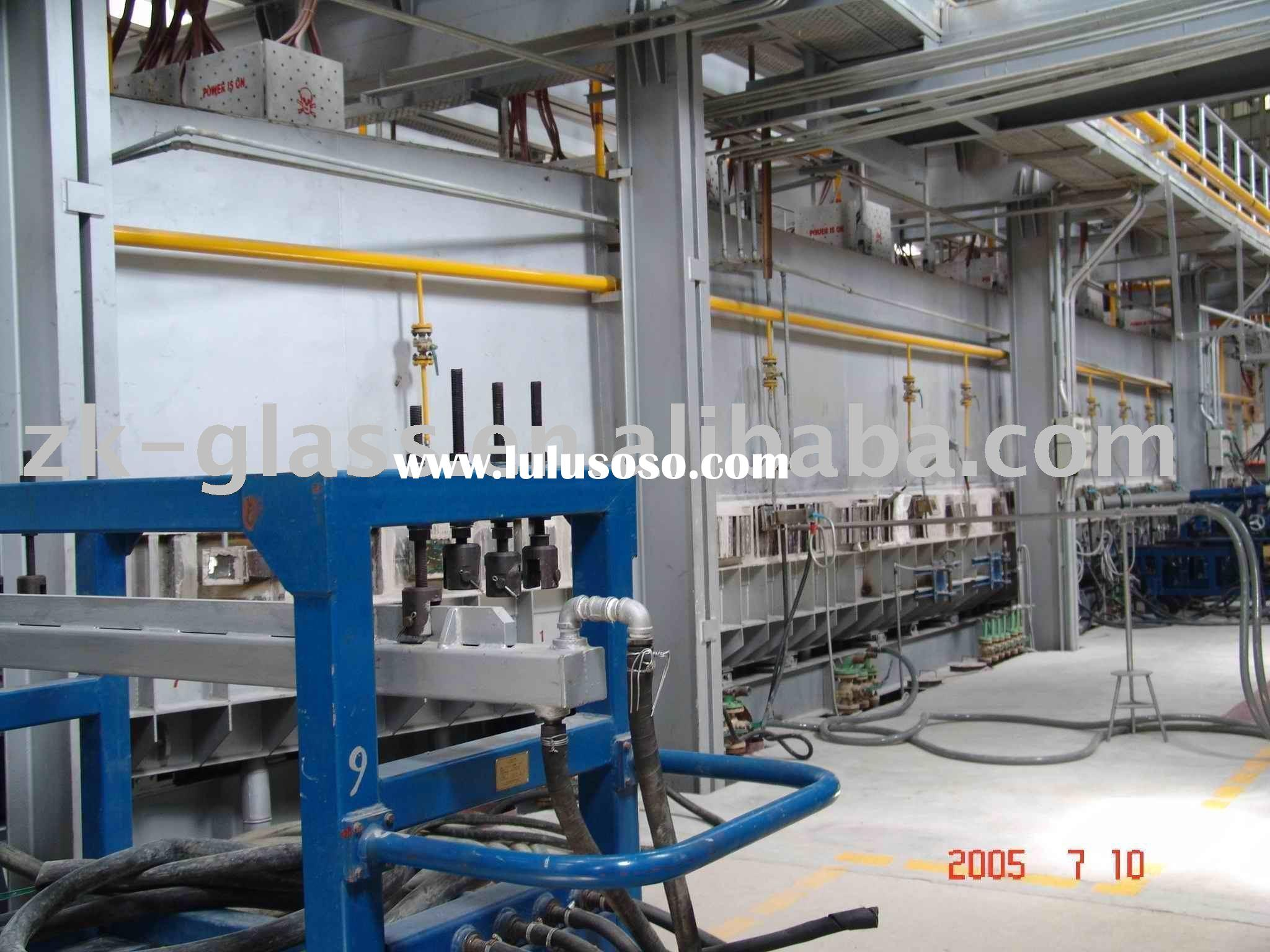 Tin bath equipment for float glass production line