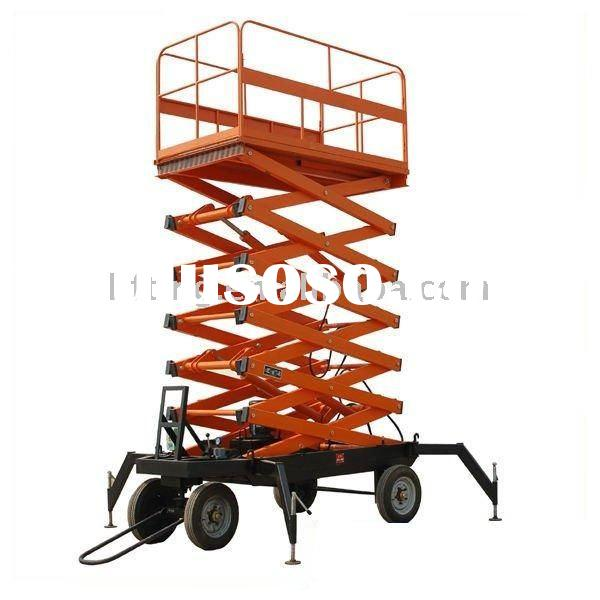Hydraulic Lifting Trailers : Fixed electric hydraulic scissor lift for sale price