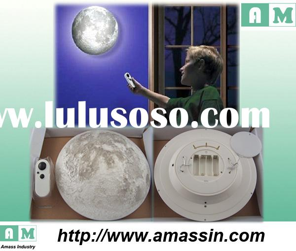 Unique holiday lighting, MOON LIGHT Wall Decor Night Gift Bedroom