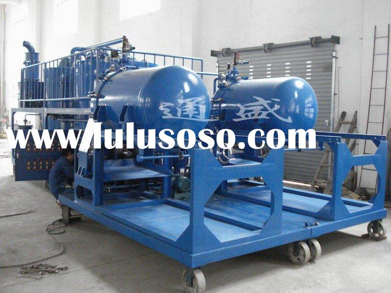 ZYD waste used lubes hydraulic fluid oil recycling equipment