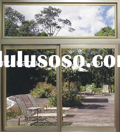 aluminum alloy tempered glass sliding window