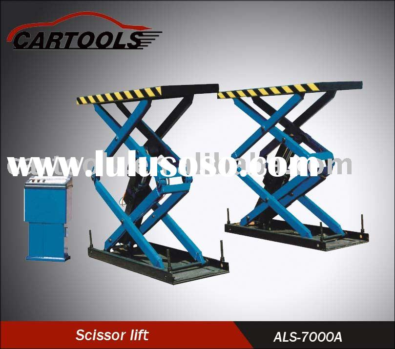 auto scissor lift, hydraulic scissor hoist, car lift