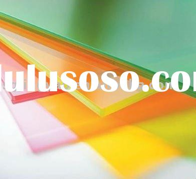 color glazing laminated glass