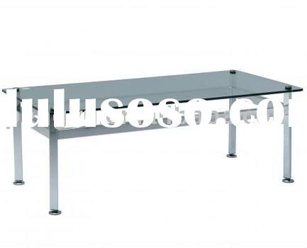 custom made stainless steel Table for coffee shop, hotel or living room