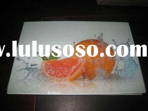 easy clean,safety,duribity toughened glass cutting board