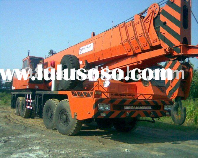 hydraulic equipment tadano used 80t crane,TG800E,used  truck crane