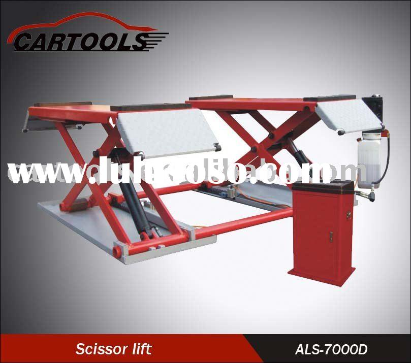 Hydraulic scissor lift system for sale price china for Equipement complet garage auto