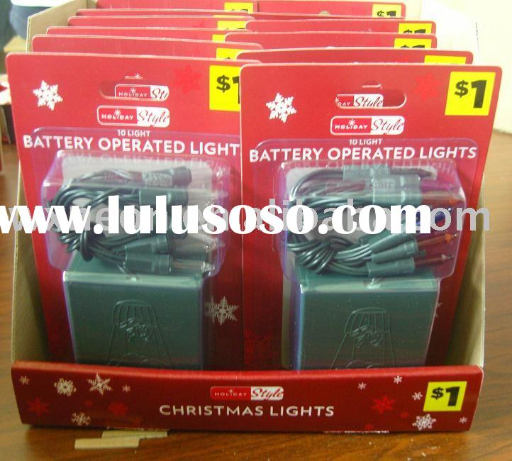 led battery string light(mini light,holiday and wedding decoration)
