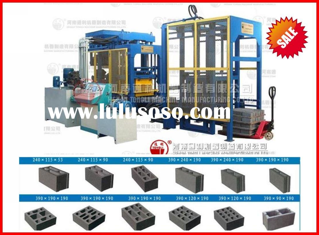 salable full automatic block machine