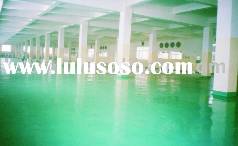 solvent-based epoxy floor coating system