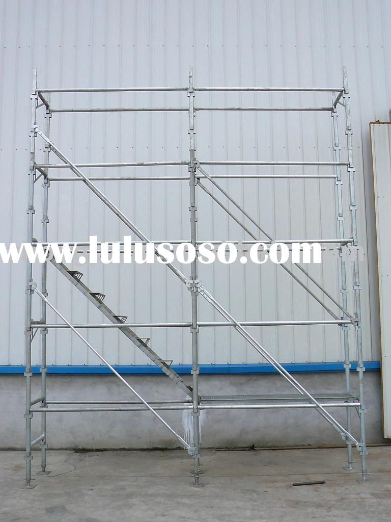 Steel Scaffolding Manufacturers : Cup lock scaffold part for sale price china manufacturer