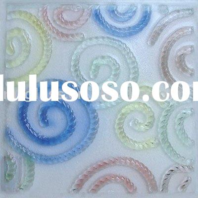 tempered glazing glass for ceiling, wall decoration and window