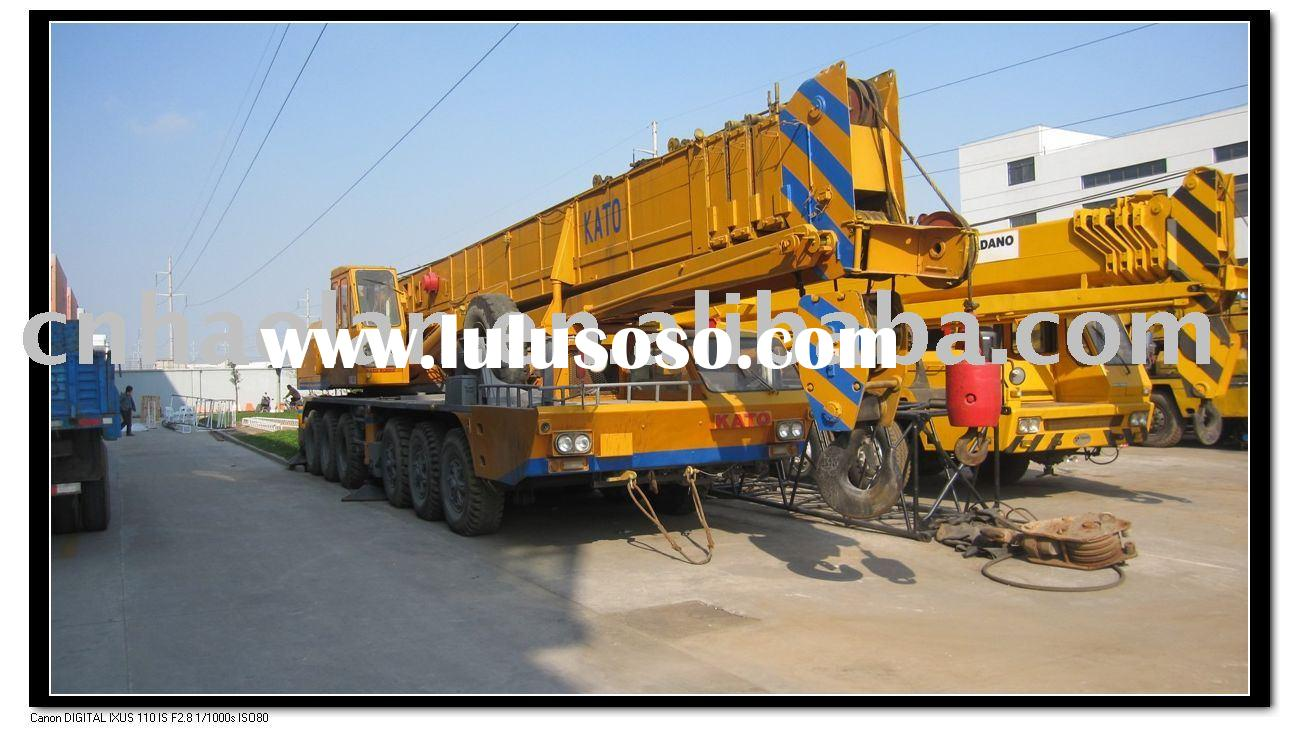 used construction equipment 80TON for sale(hydraulic mobile crane used cranes)