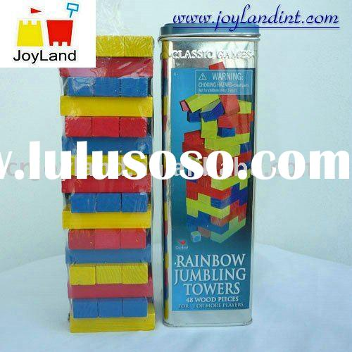 wooden building block toy