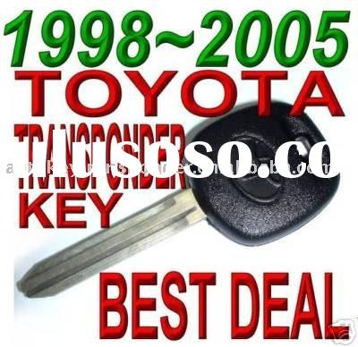 98 99 00 01 02 TOYOTA TRANSPONDER KEY AVALON 4RUNNER