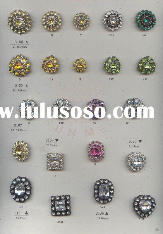 Acrylic Stone Buttons