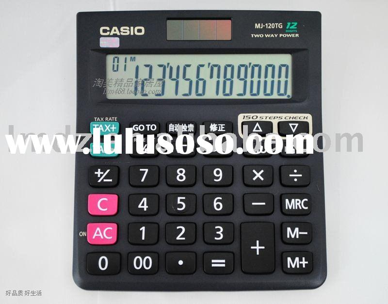 Basic scientific  calculator
