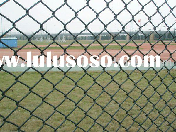 Chain Link Fence/Chain link fabric/Pvc coated chain link meshFactory/Manufacturer
