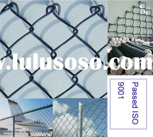 Chain Link Fence with PVC coated steel wire type chain50