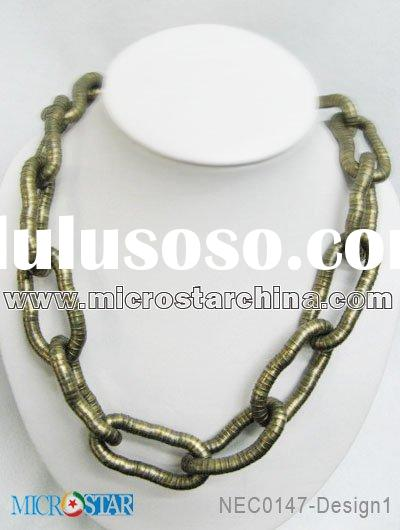 Chain necklace/jewelry chain/necklace chain