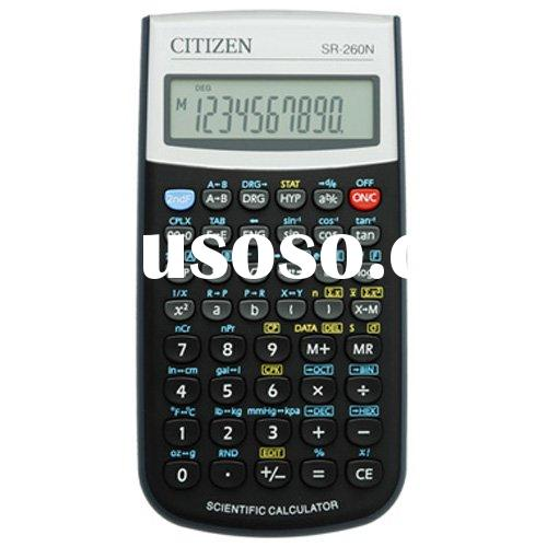 Citizen SR 260 Scientific Calculator