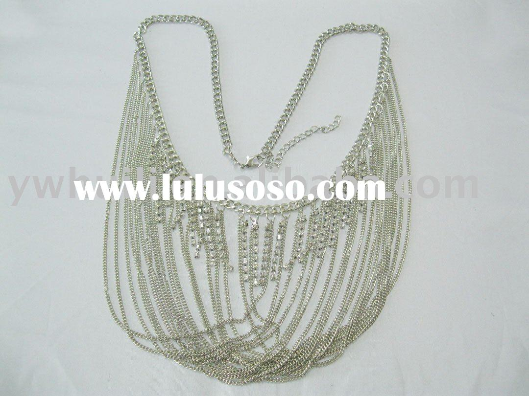 Fashion cup chain necklace jewelry