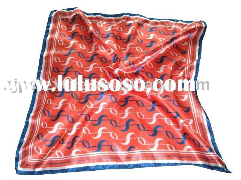 Luxury silklike square sari