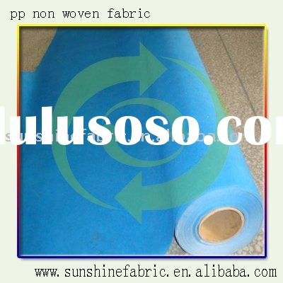 Polypropylene nonwoven fabric for litter bags