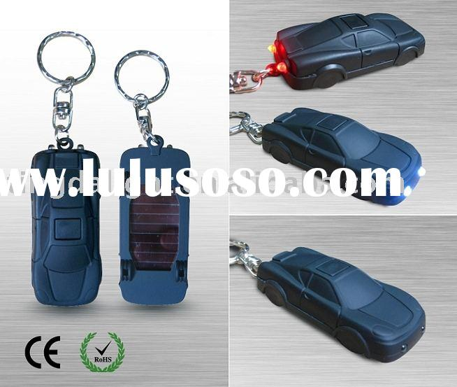 Solar LED key chain flashlight (Car)