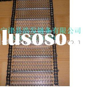 chain drive roller link conveyor wire belt mesh  weave band