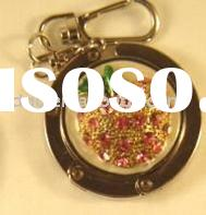 flower purse holder with key chain ZD189-3