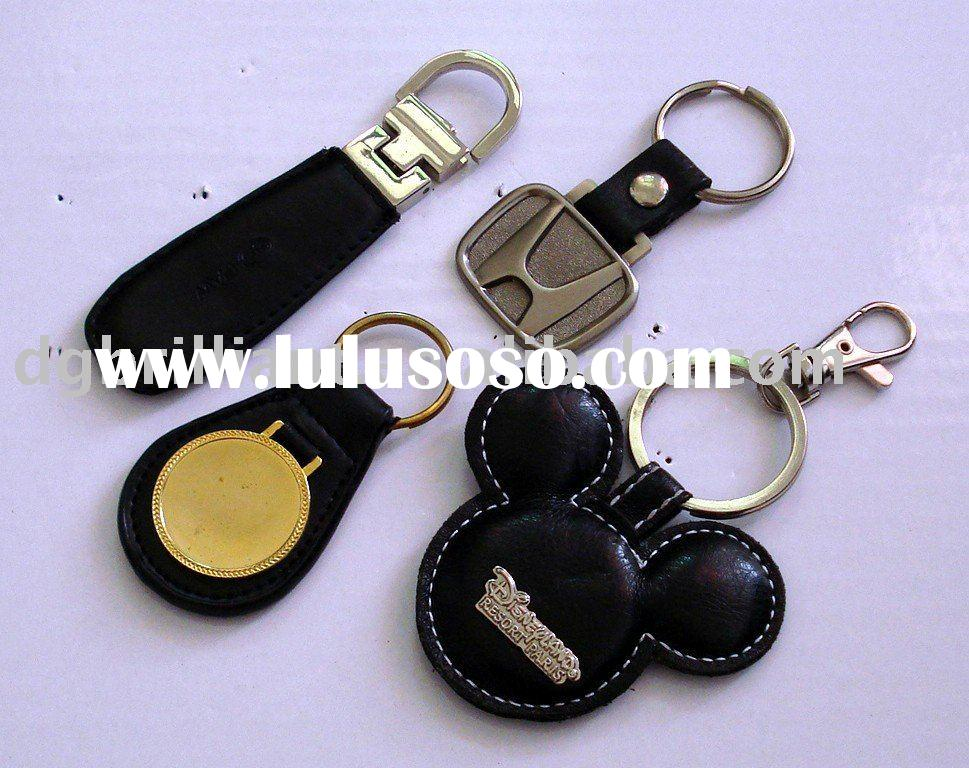 leather keychain, key chain, key holder, keyring, key ring
