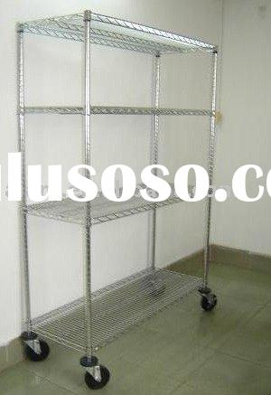 metal racking chrome steel shelving